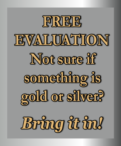 Gold & Silver FREE Evaluation