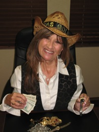 Meet Carol Banner, Texas Gold Lady.